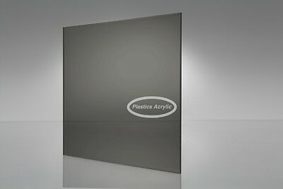 Dark Graysmoke Transparent Acrylic Plexiglass Sheet 116 X 6 X 12 2074