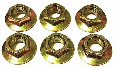 Pack - MTD Blade Lock Nut, 712-0417, 712-0417A, 912-0417A  fits Cub - Blade Locking Nut