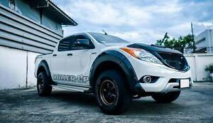 Mazda Bt50 Pro 12 13 15 Black Workmate Fender Flare Flares Wheel Hoppers Crossing Wyndham Area Preview