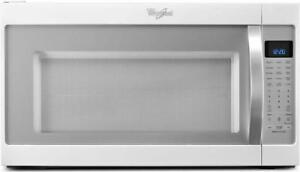 Whirlpool YWMH53520CH 2.0 cu. ft. Microwave Hood Combination with CleanRelease Non-Stick Interior