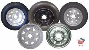 TRAILER WHEELS & TYRES (SOUTH) Glengowrie Marion Area Preview
