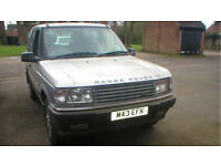 Range Rover P38 2.5td 5sp manual ABS & traction control MOT/01 04/2018