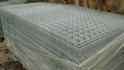 50 Pack 200cm x 100cm Zincalu Welded Wire Mesh Panels  3