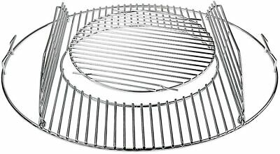 Denmay 8835 Hinged Cooking Grate for 57 cm Weber Charcoal Grills Gourmet BBQ Sys