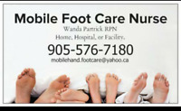 Mobile Foot Care Nurse-Courtice,Oshawa,Whitby, Ajax
