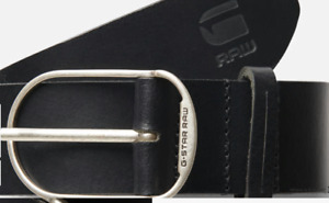 G-star Raw Unisex Black Leather Belt