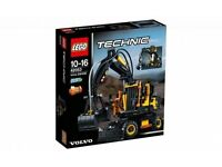 LEGO TECHNIC 42053 VOLVO EW160E BRAND NEW BOXED SEALED ONLY £60