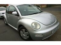 VW Beetle 1.6 ,manual, Alloy wheels long MOT, £900 ono