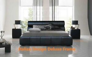 Moving sale new Pu leather timber metal bed from $99 Lidcombe Auburn Area Preview