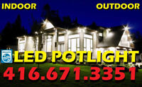 1# HIGH-TECH QUALITY PHILIPS® LED POTLIGHT INSTALLED $50
