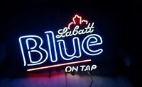 Labatt Blue Neon on Tap Sign Bar or Man Cave Quick Sale!!!