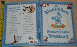 Blues Clues Nursery Rhymes Book London Ontario image 1