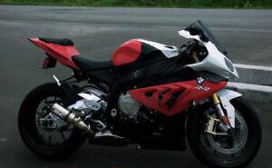 Vente Moto BMWS1000RR 2013, modifié A1 encore sous garantie