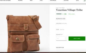 ROOTS Venetian Village Tribe Crossbody Bag