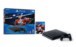 PS4  1 TB  Slim Console With Controller