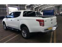 2016 WHITE MITSUBISHI L200 2.4 DI-D WARRIOR 4WD CREW CAB CAR FINANCE FR 71 PW