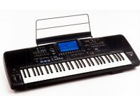 Technics sx-kn3000 Electric Keyboard, with pedal, flight case, manual and keyboard stand.