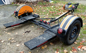 DEMC Vehicle Trailer Dolly with 9000 lb TMax Winch