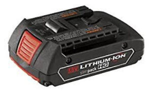New Bosch 18-Volt Lithium-Ion Battery and travel case