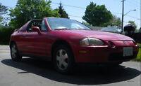1993 Honda Del Sol SI Roadster Convertible