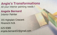 Interior Painter and Cabinet Refinishing !