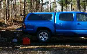 Blue color match Tacoma truck cap
