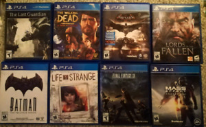 Ps4 Games for sale / trade