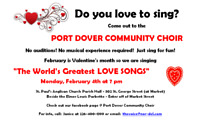 Sing Along Event - World's Greatest Love Songs