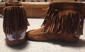 Suede boots moccasins from Aldo 8.5 St. John's Newfoundland image 1