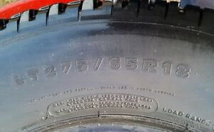 2 Tires - Michelin LTX275/65r18 Kitchener / Waterloo Kitchener Area image 1