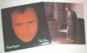 Phil Collins No Jacket Required LP Record London Ontario image 2