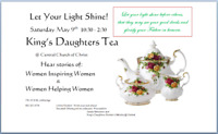 Tea:  KING's Daughters  Tea, Galata Ministries