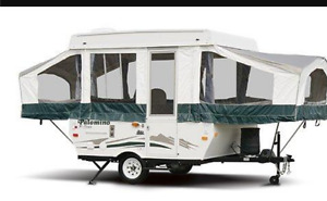 Tent Trailer  and/Or Travel Trailer to Rent