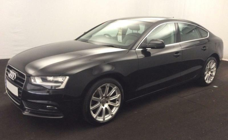 BLACK AUDI A SPORTBACK TDI ULTRA SE TECHNIK CAR FINANCE FR - Black audi