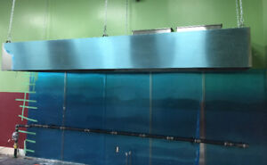 Kitchen Hood,Fire Suppression ,Fans,Make Up Air,Duct working,CO2