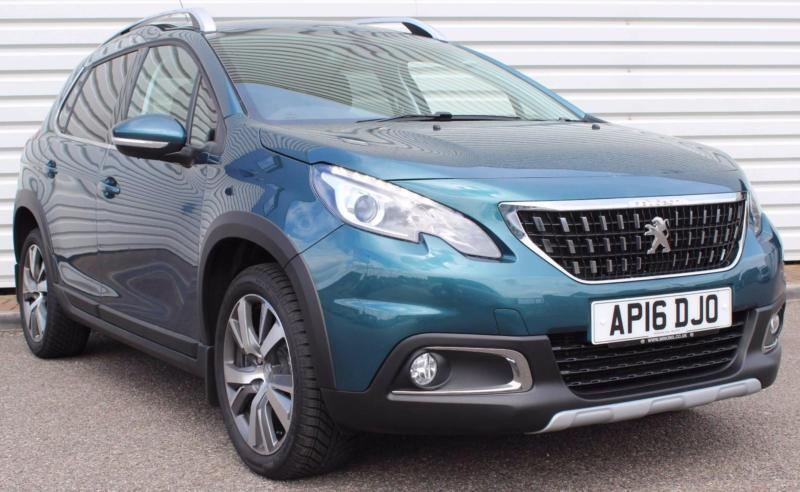 peugeot 2008 1 6bluehdi allure manual 5 door crossover emerald green 2016 in saxmundham. Black Bedroom Furniture Sets. Home Design Ideas