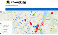 Register your coworking space, incubator, desk rental - Website