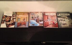 MANY MAGAZINES & BOOKS ON HOME DECOR,DESIGN, INTERIORS,