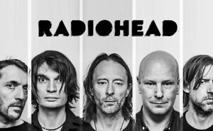4 tickets Radiohead Bell Centre 301 ROW A Tuesday July 17th