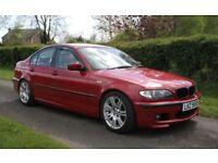 2004 BMW 318i M Sport 2.0 16v Imola Red