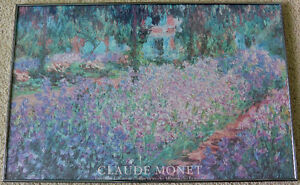 Claude Monet Print With Frame