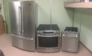 STAINLESS STEEL APPLIANCES!!!  IN MINT CONDITION!!!