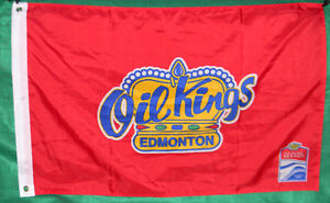 OIL KINGS Inaugural  Rogers Place Flag