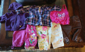 7 pieces  3-6 Months Baby Girl Clothes