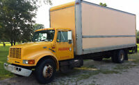 2000 International 4900 Diesel DT466E HT 24' Box