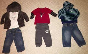 Baby boy winter clothing