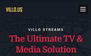 Villo.us IPTV - 5 Connection for $15!! - ALL SPORTS & UFC incl