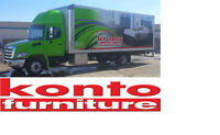 Furniture Delivery Driver & Warehouse Assistant in Camrose