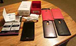 UNLOCKED LG G4 (Used 1 year) WITH 3 batteries plus more Peterborough Peterborough Area image 6