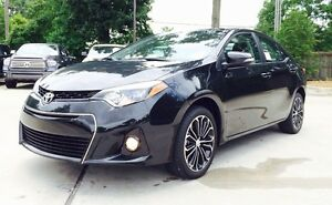 LEASE TAKEOVER - ENDS NOV 2017 - 2014 TOYOTA COROLLA S MANUAL